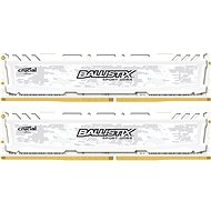 Crucial 8GB KIT DDR4 2400MHz CL16 Ballistix Sport LT Single Ranked White - System Memory