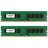 Crucial 16GB KIT DDR4 2400MHz CL17 Single Ranked x8 - System Memory