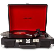 Crosley Cruiser Deluxe - Black - Turntable