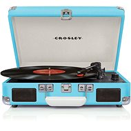Crosley Cruiser Deluxe - Turquoise - Turntable