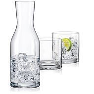 Crystalex WELLNESS set of carafe and glasses - Carafe