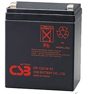 CSB HR1221W F2, 12V, 5.1Ah - Rechargeable Battery