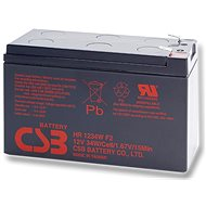 CSB HR1234W F2, 12V, 9Ah - Rechargeable Battery
