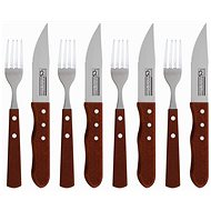 CS Solingen Jumbo Stainless-Steel Steak Cutlery Set CS-070212