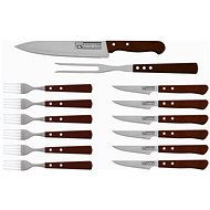 CS Solingen Stainless-steel Steak Cutlery Set 14pcs CS-070243 - Grill Set