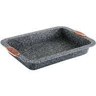 CS Solingen STEINFURT Deep Baking Pan with Marble Surface  34 x 24cm - Baking Sheet