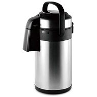 CS Solingen PASSAU Serving Stainless Steel Thermos with Pump, 3l - Thermos