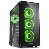 Sharkoon TG5 Glass Green - PC Case