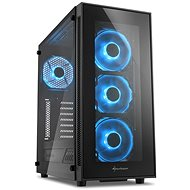 Sharkoon TG5 Glass Blue - PC Case