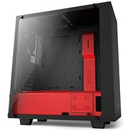 NZXT S340 Elite matte black / red - PC Case