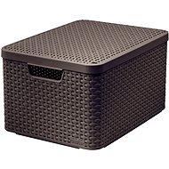 CURVER STYLE BOX with Lid L, 03619-210 – Brown