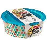 Curver DECO CHEF SET 3pcs of containers for food - Food Container Set