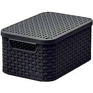 Curver storage box RATTAN style2 with lid S - Storage Box