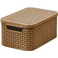 Curver RATTAN Style2 storage box with lid S - Storage Box