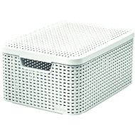 Curver storage box with lid RATTAN style2 M - Storage Box