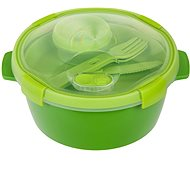 CURVER SMART TO GO 1.6l with Cutlery, Cup, and Tray - Green