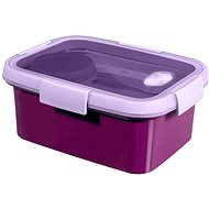 CURVER SMART TO GO Lunch Kit 1.2l with cutlery, bowl and tray - purple