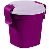 CURVER LUNCH&GO cup S, purple - Container