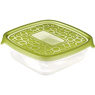 CURVER TAKE AWAY set of boxes 5x 0.6l, green lid - Food Container Set