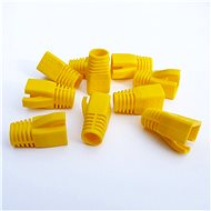 Datacom Plug for the RJ45 Plug (CAT6A, CAT7) Yellow (10pcs) - Connector Cover
