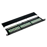 "Datacom Patch Panel 19 ""STP 24 port CAT5E LSA 0.5U BK (3x8p) - Patch Panel"