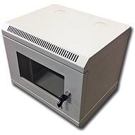 "Datacom 10"" 6U/280mm (glass) grey - Rack"