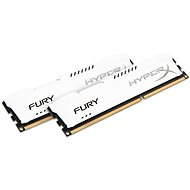 HyperX 8GB KIT DDR3 1600MHz CL10 Fury White Series - System Memory