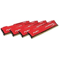 HyperX 32GB KIT DDR4 2933MHz CL17 Fury Red Series - System Memory
