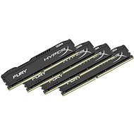 HyperX 16GB KIT DDR4 2400MHz CL15 Fury Black Series - System Memory