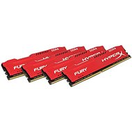 Kingston 64GB KIT DDR4 2400MHz CL15 HyperX Fury Red Series - System Memory