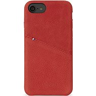 Decoded Leather Case Red iPhone 7/8 - Protective Case