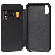 Decoded Leather Slim Wallet Black iPhone XS Max - Mobile Case