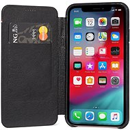 Decoded Leather Slim Wallet Black iPhone XS/X - Mobile Case