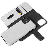 Decoded Recycled Leather Detachable Wallet Grey iPhone 11 - Mobile Case