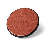 Decoded Leather Qi Wireless Charger Brown - Wireless charger