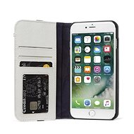 Decorated Leather Case Wallet Case 2 Gray iPhone 8 Plus/7 Plus/6s Plus - Mobile Phone Case