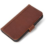 Decoded Leather Card Wallet Brown iPhone XR - Mobile Phone Case