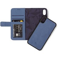 Decoded Leather 2in1 Wallet Blue iPhone XS/X - Mobile Phone Case