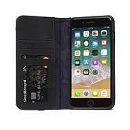 Decoded Leather Wallet Case Black iPhone 8 Plus/7 Plus/6s Plus - Mobile Phone Case