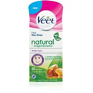 VEET Face Wax Strips Natural Inspirations - Strips