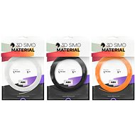 3DSimo ABS II - orange, black, white 15m - 3D Pen Filament