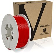 Verbatim PLA 1.75mm 1kg Red - 3D Printing Filament