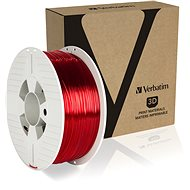 Verbatim PET-G 1.75mm 1kg red transparent - 3D Printing Filament