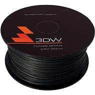 3DW ABS 1.75mm 1kg Black - 3D Printing Filament