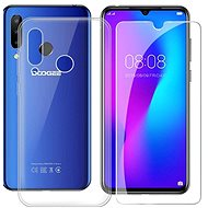 Doogee TPU Transparent Case  + Tempered Glass for Y9 PLUS - Set