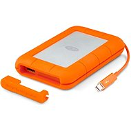 "LaCie 2.5"" Rugged 500GB Thunderbolt SSD USB-C + SRS Rescue for 3 years - External hard drive"