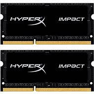Kingston SO-DIMM 8GB KIT DDR3L 1866MHz HyperX Impact CL11 Black Series - System Memory