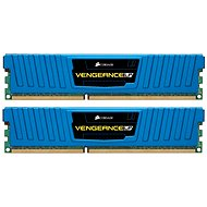 Corsair 8GB KIT DDR3 1600MHz CL9 Blue Vengeance Low Profile - System Memory