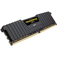 Corsair 8GB DDR4 2666MHz CL16 Vengeance LPX Black - System Memory