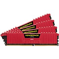 Corsair 16GB KIT DDR4 3000MHz CL15 Vengeance LPX Red - System Memory